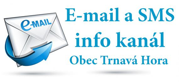 E-mail a SMS info kan�l