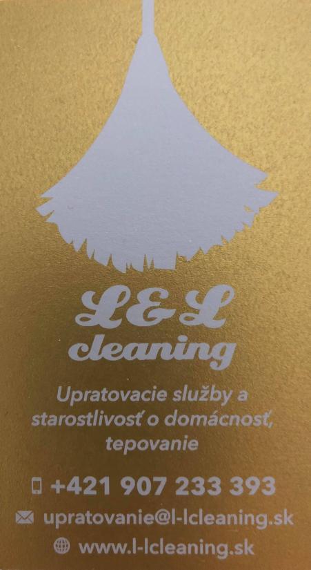 Upratovacie služby L&L CLEANING